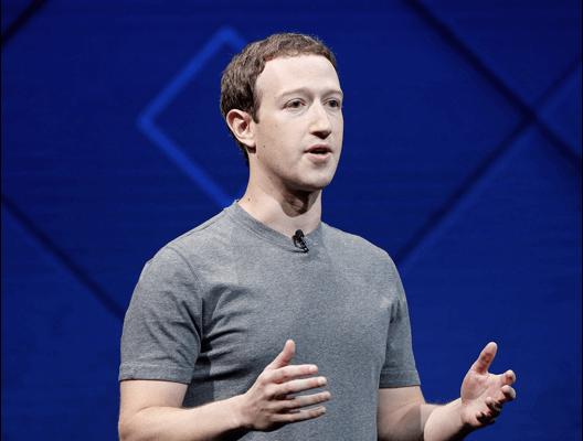 Mark Zuckerberg talking