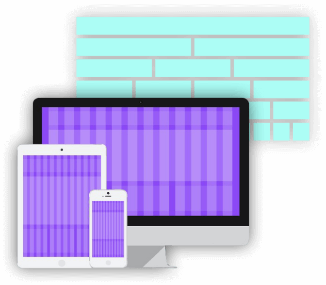Responsive design for several devices
